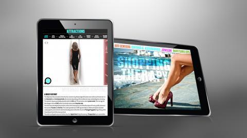 Experience Mykonos iPad app