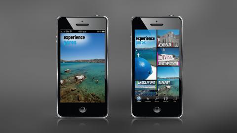Paros iPhone app