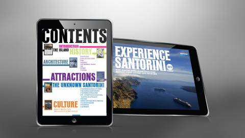 Experience Santorini iPad app